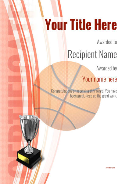 certificate-template-basketball-modern-1rt5s Image