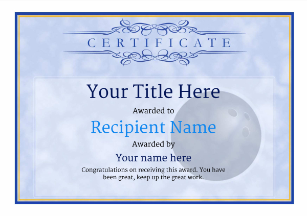certificate-template-bowling-classic-1bbnn Image
