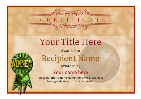 certificate-template-bowling-classic-1dwrg Image