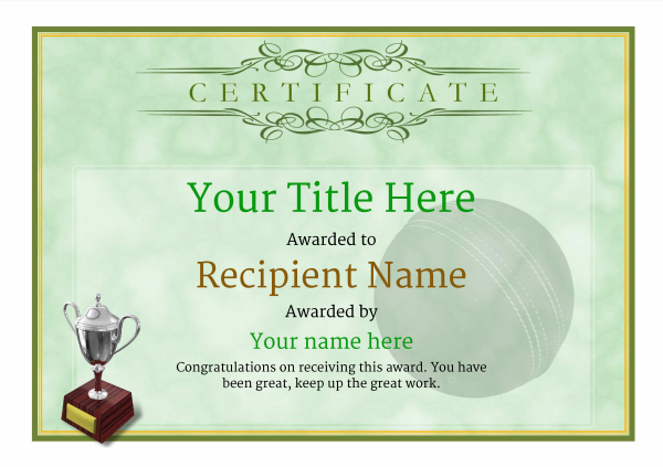 certificate-template-cricket-classic-1gt3s Image