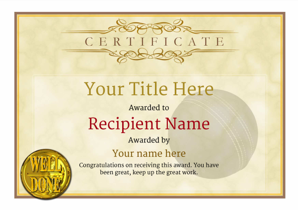 certificate-template-cricket-classic-1ywnn Image