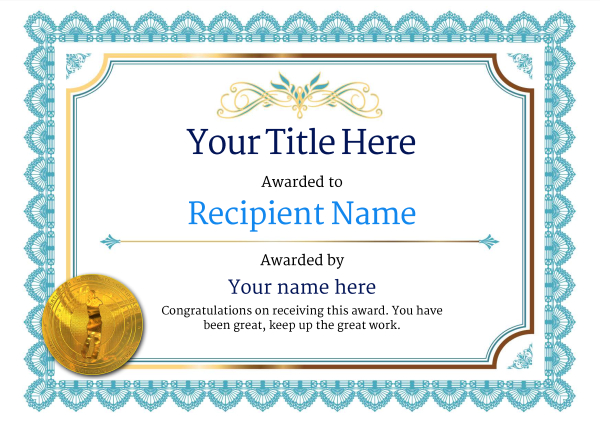 Free golf certificate templates add printable badges medals certificate template golf classic 3bgmg image yelopaper Choice Image