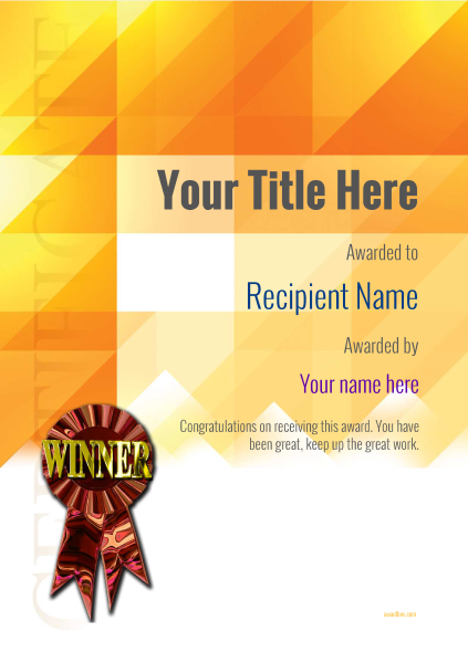 certificate-template-horse-riding-modern-2dwrr Image