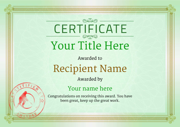 certificate-template-ice-hockey-classic-4gisr Image
