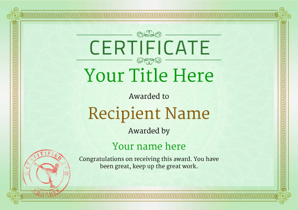 certificate-template-ice-skating-classic-4gisr Image