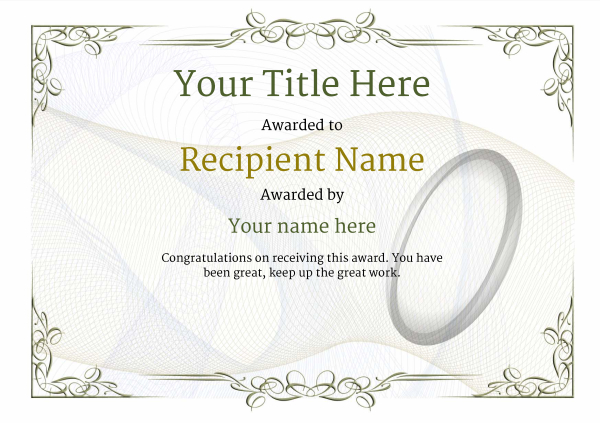 certificate-template-rugby-classic-2dbnn Image