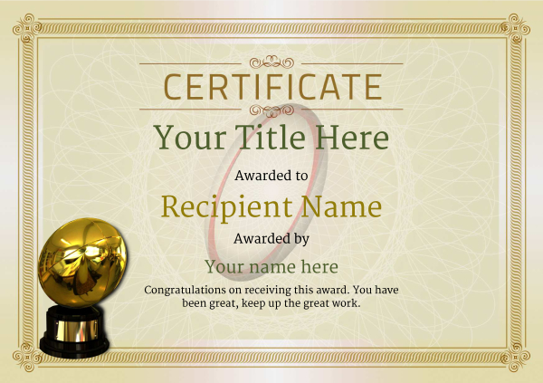 certificate-template-rugby-classic-4drbg Image