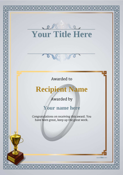 certificate-template-rugby-classic-5dt2g Image