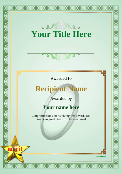 certificate-template-rugby-classic-5gmsn Image