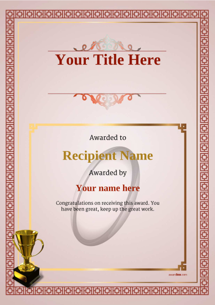 certificate-template-rugby-classic-5rt4g Image