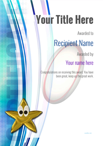 certificate-template-rugby-modern-1dsnn Image