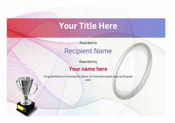 certificate-template-rugby-modern-3dt4s Image