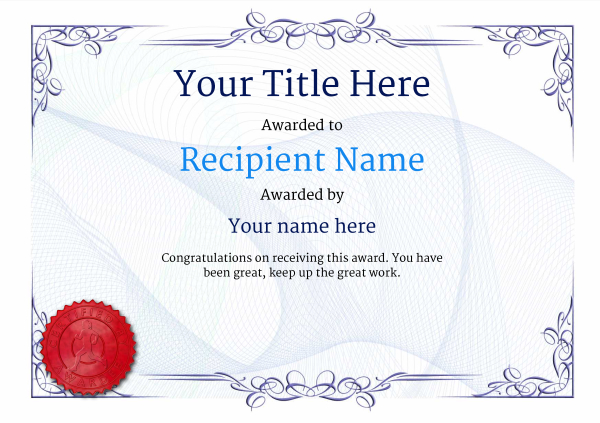 Free athletic running certificate templates inc printable badges certificate template running classic 2brsr image yadclub Image collections