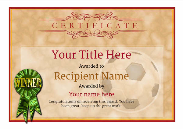 certificate-template-soccer-classic-1dwrg Image