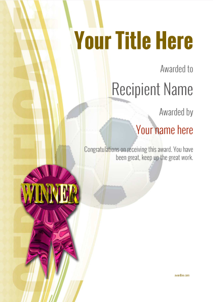 certificate-template-soccer-modern-1ywrp Image
