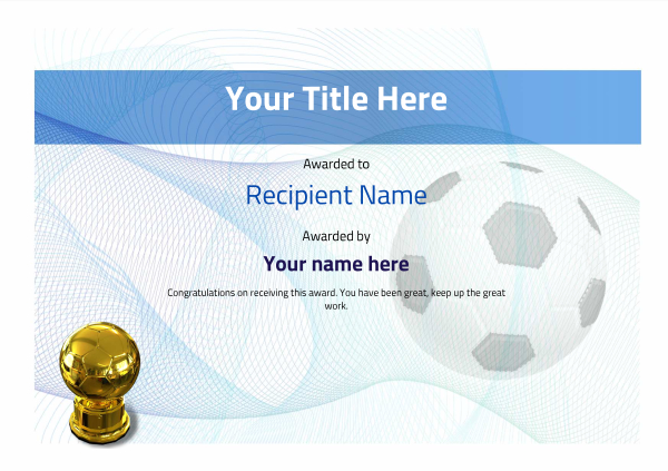 certificate-template-soccer-modern-3bstg Image