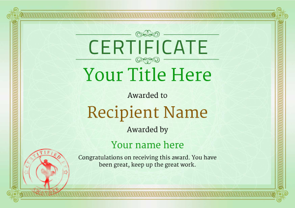 certificate-template-ballet-classic-4gbsr Image