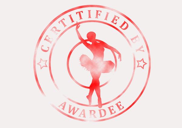 certificate-template-ballet-classic-5-grey-bbsr Image