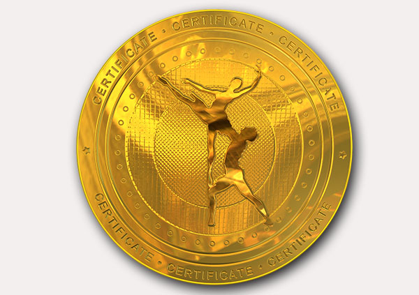 certificate-template-ballet-modern-2-grey-bbmg Image