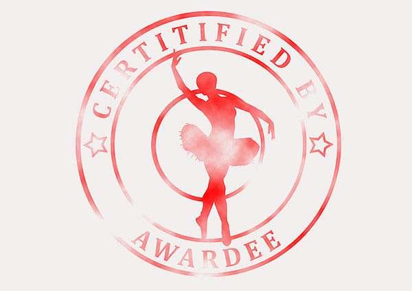 certificate-template-ballet-modern-3-grey-bbsr Image