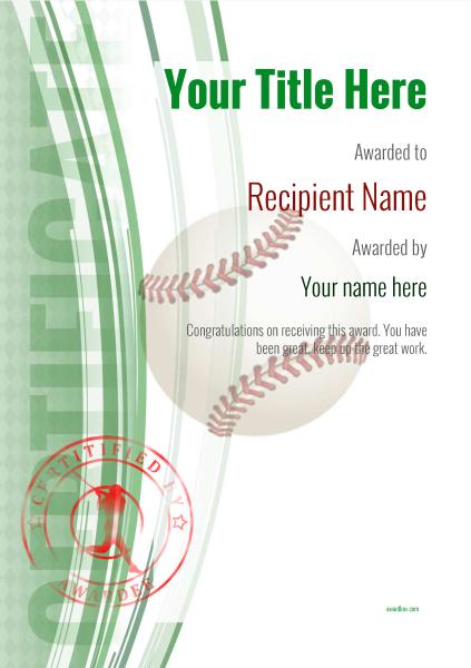 certificate-template-baseball_thumbs-modern-1gbsr Image