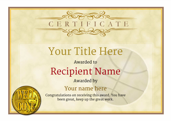 certificate-template-basketball-classic-1ywnn Image