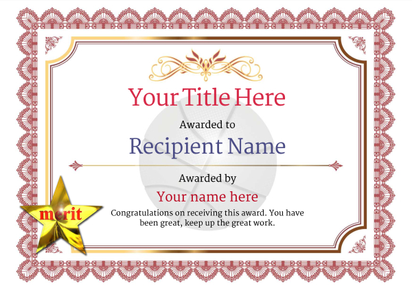 certificate-template-basketball-classic-3rmsn Image