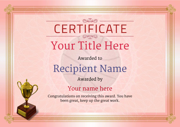certificate-template-basketball-classic-4rt3g Image