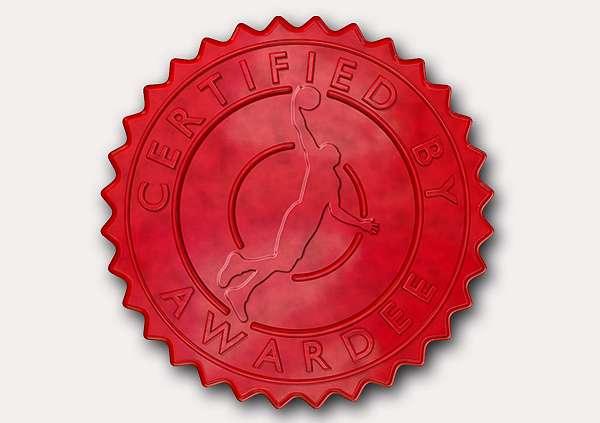 certificate-template-basketball-modern-3-grey-gbsr Image