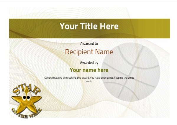 certificate-template-basketball-modern-3ysnn Image