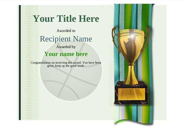 certificate-template-basketball-modern-4gt1g Image