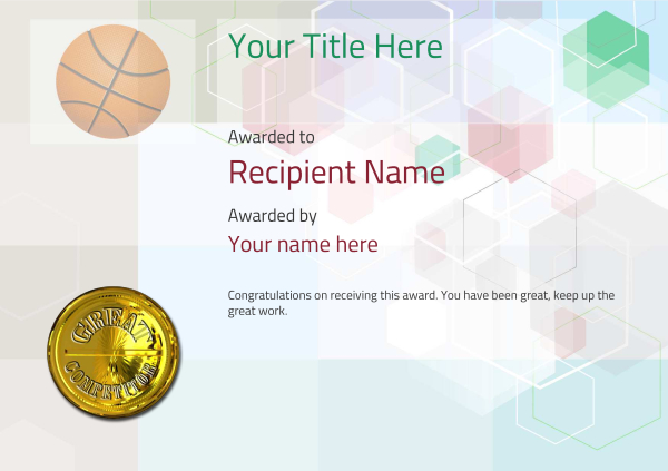 certificate-template-basketball-modern-5dcmg Image