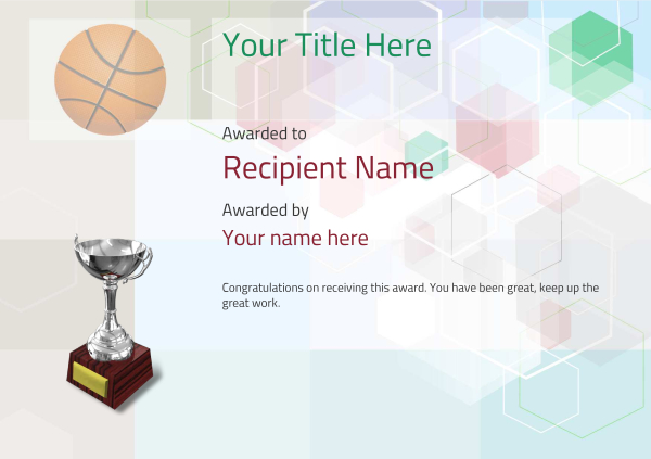certificate-template-basketball-modern-5dt6s Image