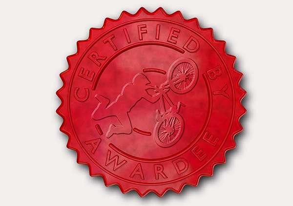 certificate-template-bmx-modern-5-grey-dbsr Image