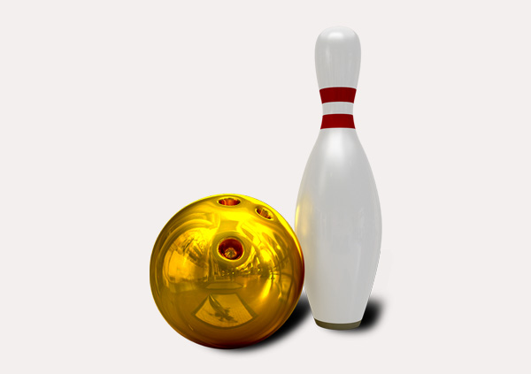 certificate-template-bowling-modern-2-grey-bbnn Image