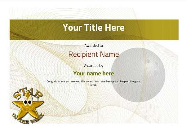 certificate-template-bowling-modern-3ysnn Image