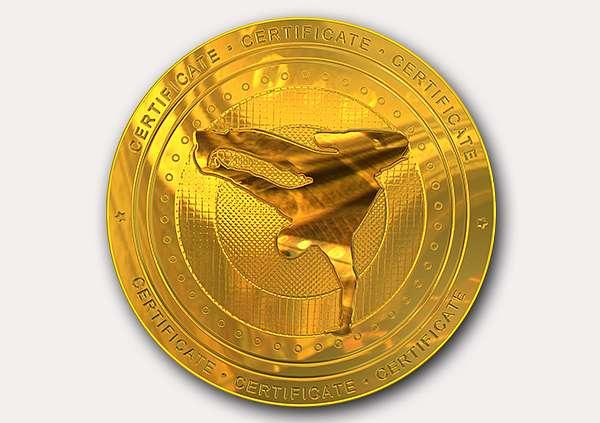 certificate-template-breakdance-modern-1-grey-gbmg Image