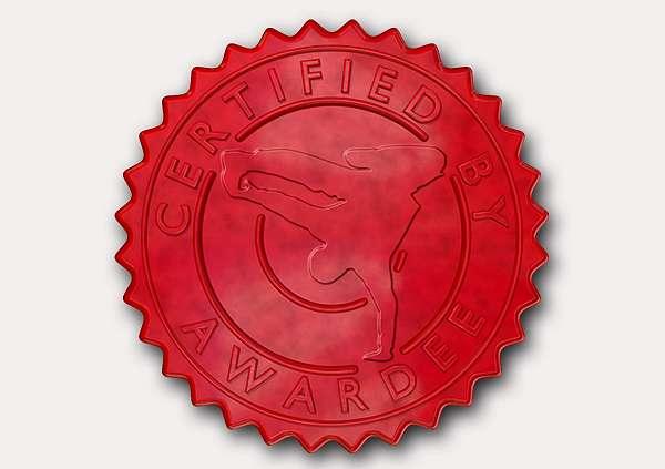 certificate-template-breakdance-modern-3-grey-gbsr Image