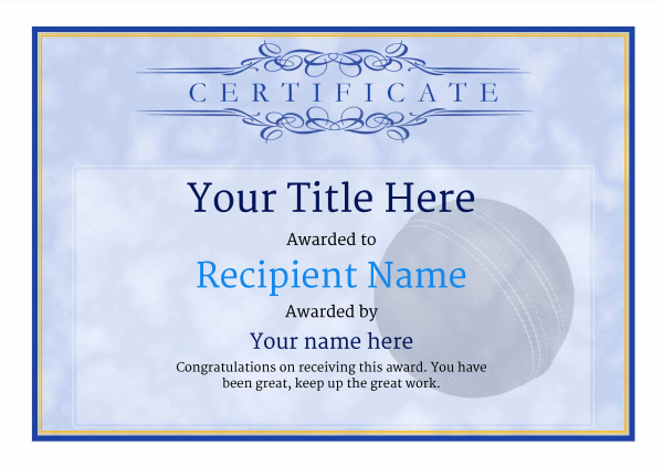 certificate-template-cricket-classic-1bbnn Image