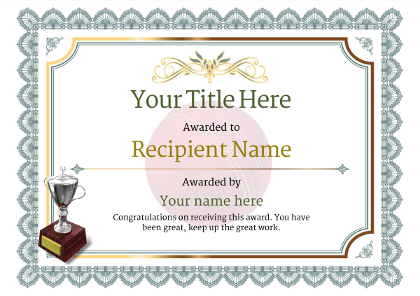 certificate-template-cricket-classic-3dt2s Image