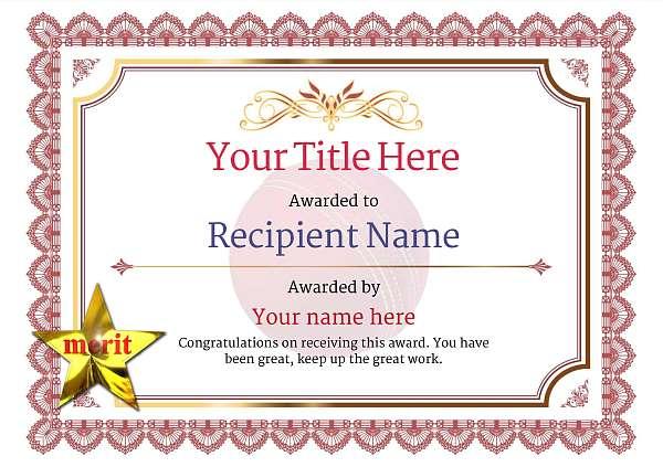 certificate-template-cricket-classic-3rmsn Image