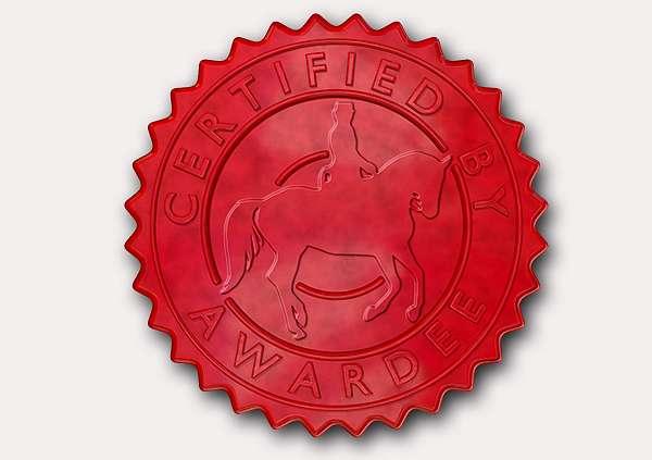 certificate-template-dressage-classic-2-grey-bdsr Image