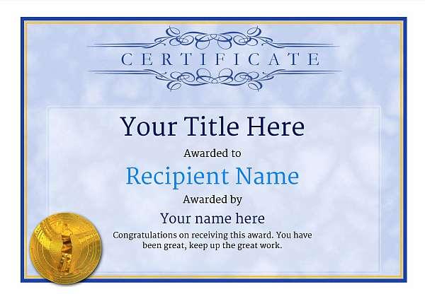 certificate-template-golf-classic-1bgmg Image