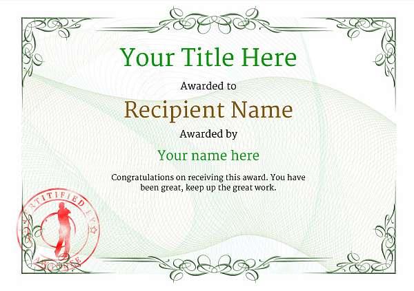 certificate-template-golf-classic-2ggsr Image