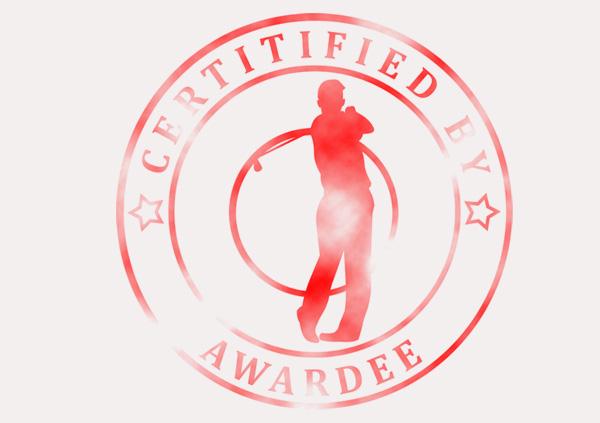 certificate-template-golf-classic-5-grey-bgsr Image