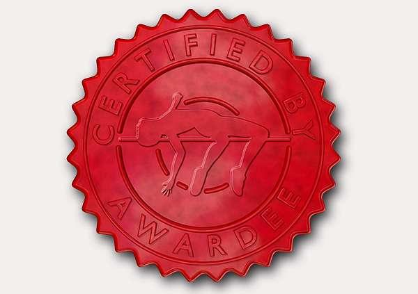 certificate-template-high-jump-classic-2-grey-bhsr Image