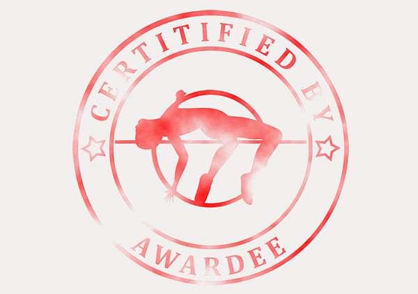 certificate-template-high-jump-modern-3-grey-bhsr Image
