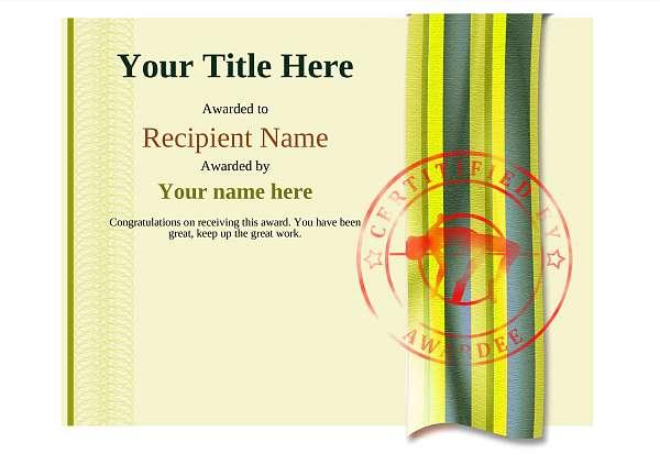 certificate-template-high-jump-modern-4yhsr Image