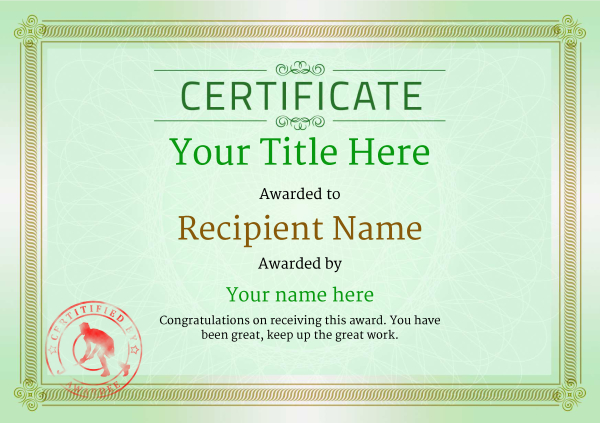 certificate-template-hockey-classic-4ghsr Image