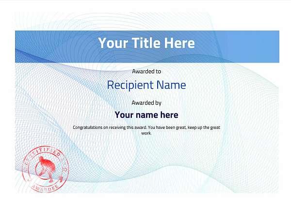 certificate-template-hockey-modern-3bhsr Image
